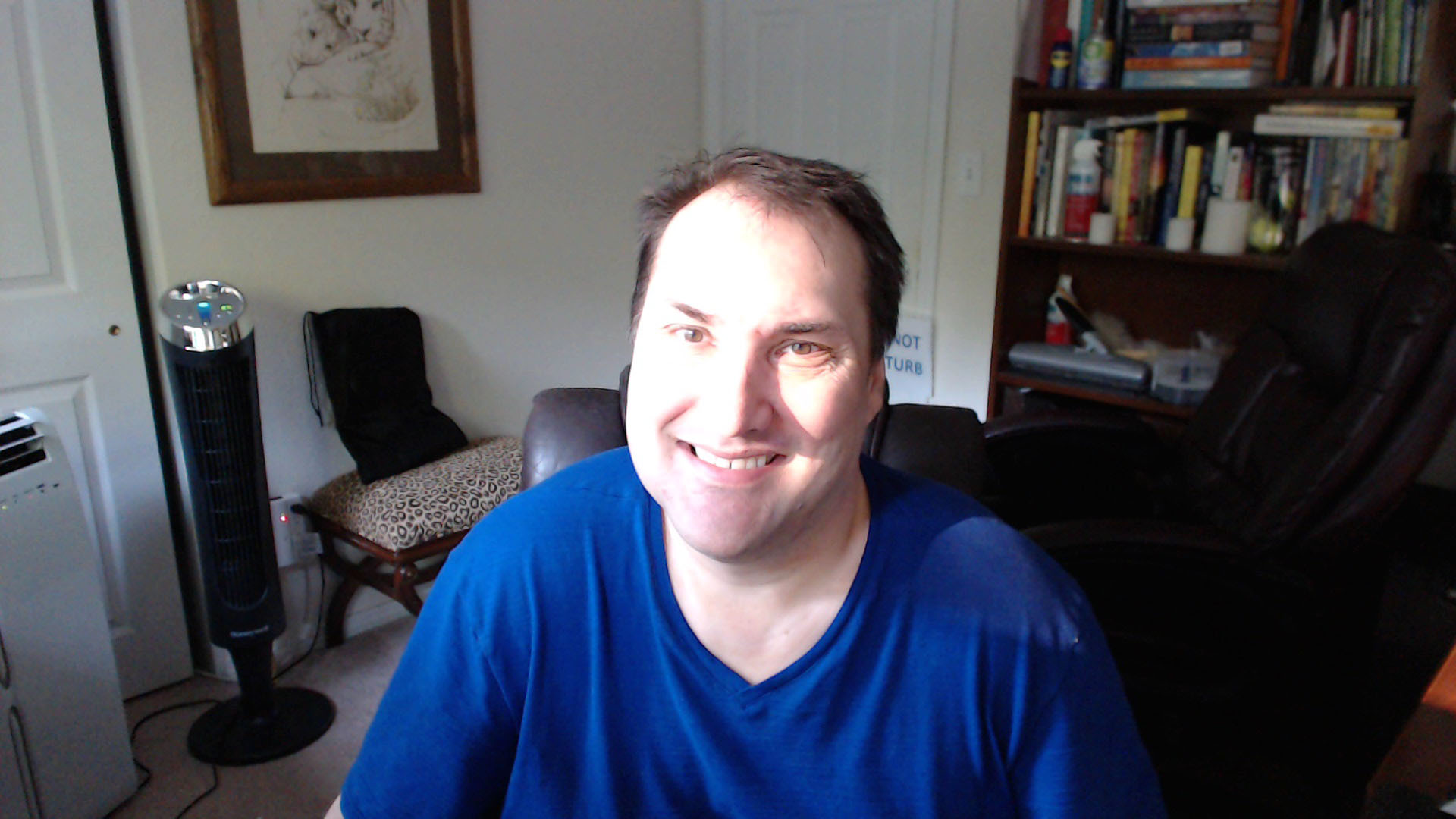 Ken Smiling Webcam Pic at 51